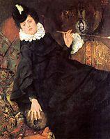 Die junge Pariserin (Die Kokotte), 1869, leibl