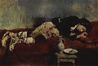 Sleeping Savoyard Boy, 1869, leibl