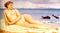 Actaea, the Nymph of the Shore, 1868, leighton