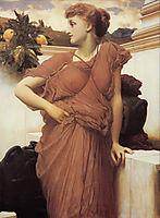 At the Fountain, 1892, leighton