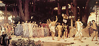 The Daphnephoria, 1874-1876, leighton