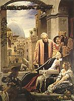 The Death of Brunelleschi, 1852, leighton