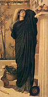 Electra at the Tomb of Agamemnon, 1868-1869, leighton