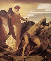 Elijah in the Wilderness, 1878, leighton
