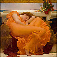 Flaming June, 1895, leighton