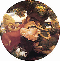 The Garden of the Hesperides, 1892, leighton