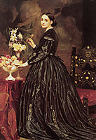Mrs James Guthrie, 1864-1866, leighton