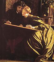 The Painter-s Honeymoon, 1864, leighton
