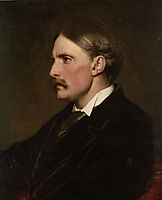 Portrait of Henry Evans Gordon, leighton