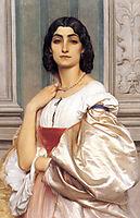 A Roman Lady, 1858-1859, leighton
