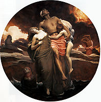 And the sea gave up the dead which were in it, 1891-1892, leighton