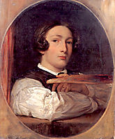 Self_portrait as a Boy, leighton