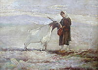 The girl and the goat, lembesis