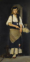 Girl with Distaff and Spindle, lembesis