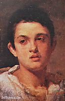 Portrait of a boy, lembesis