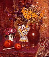 Flowers and Apples, lemmen