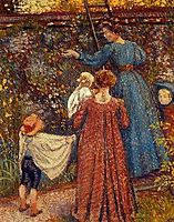 Picking Fruit, lemmen