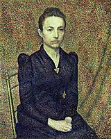 Portrait of the Artist-s Sister, 1891, lemmen