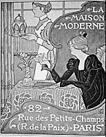 Poster for La Maison Moderne, Paris, lemmen