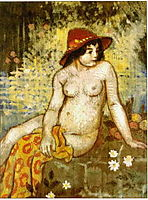 Young Bather, 1904, lemmen
