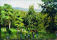 Apiary, 1887, levitan