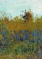 Aspen forest, levitan