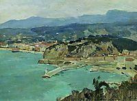 At the lake Como. Italy., 1894, levitan
