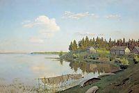 At the lake (Tver region), 1893, levitan