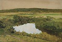 At twilight. River Istra., 1885, levitan