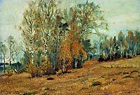 Autumn, 1891, levitan