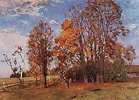 Autumn, 1896, levitan