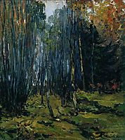 Autumn forest, 1899, levitan