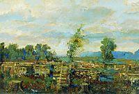 Autumn landscape, levitan