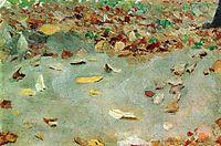 Autumn leaves, 1879, levitan
