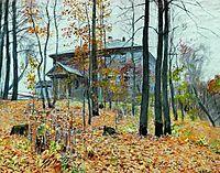 Autumn. The Manor., 1894, levitan
