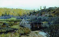 Autumn. Mill. Plyos., 1888, levitan