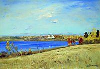 Autumn. River., 1899, levitan