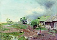 Before the thunderstorm, 1879, levitan