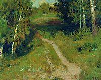 A birch grove, levitan