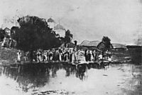 Blessing of the waters, 1893, levitan