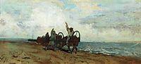 Boatmen, levitan