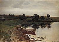 By the Riverside., c.1885, levitan