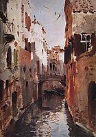 Canal in Venice, 1890, levitan