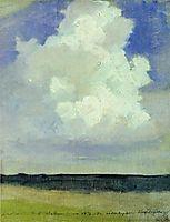 Cloud, 1878, levitan