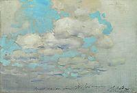 Clouds, c.1895, levitan