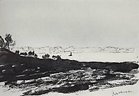 Coast of the lagoon, 1896, levitan