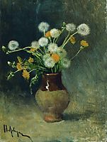 Dandelions, 1889, levitan