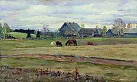 Dull day, 1890, levitan
