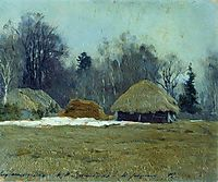 Early spring, 1892, levitan