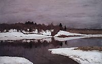 Early spring, 1898, levitan